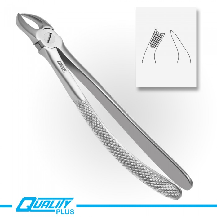 Fig: 90 Extraction Forceps English Pattern Serration